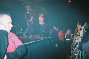 The Music: Kool Haus December 14 2004. The days before digital cameras